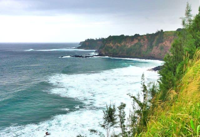 Haiku coastal landscape