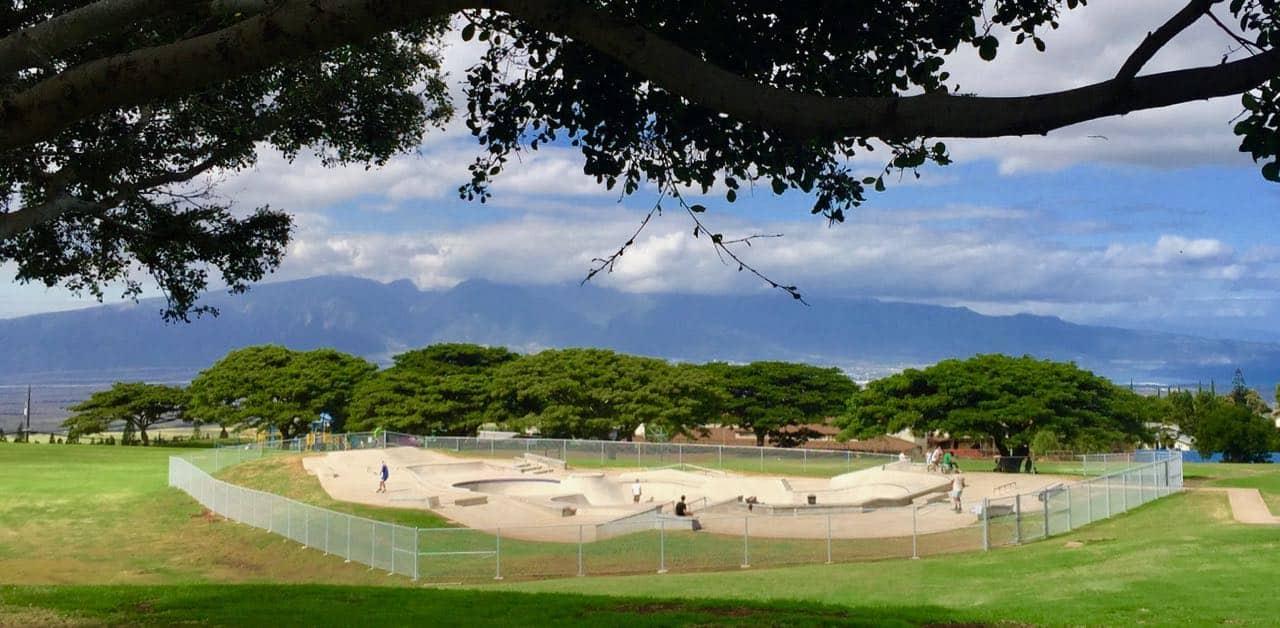 New skate park in Pukalani