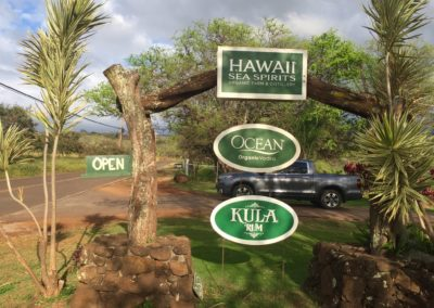hawaiian sea spirits signage