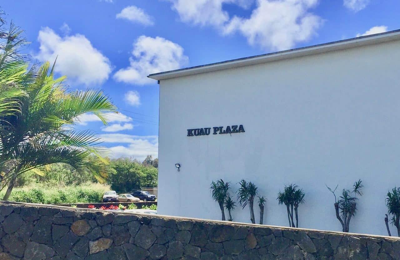 kuau plaza condo building
