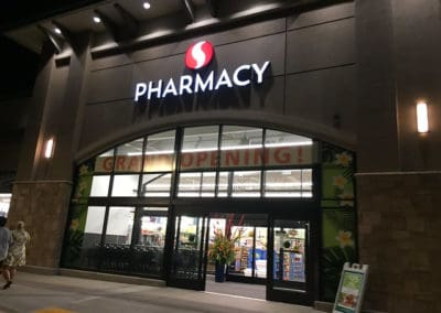 safeway pharmacy open at night
