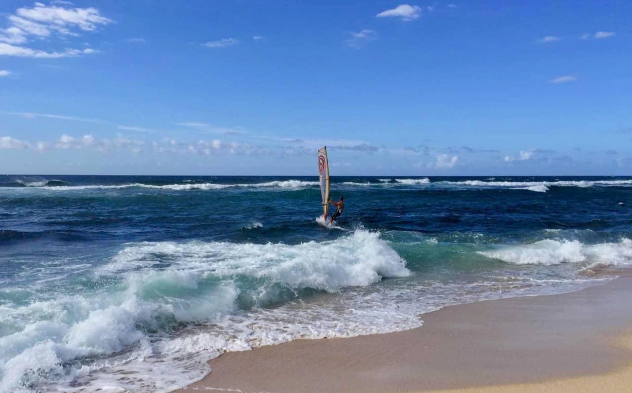 hookipa windsurfing