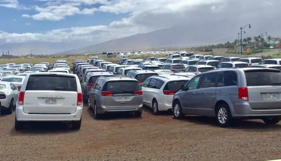 rental cars on maui during the pandemic