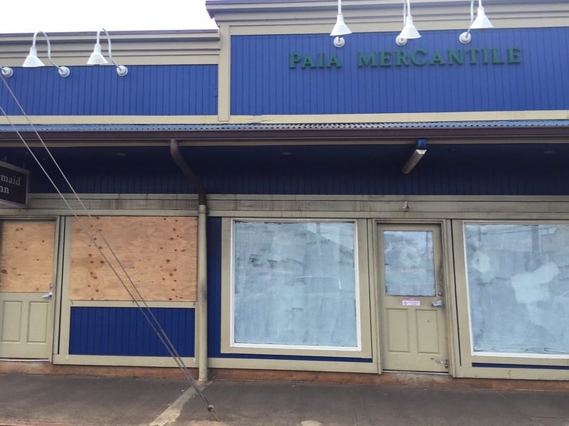 paia mercantile boarded up