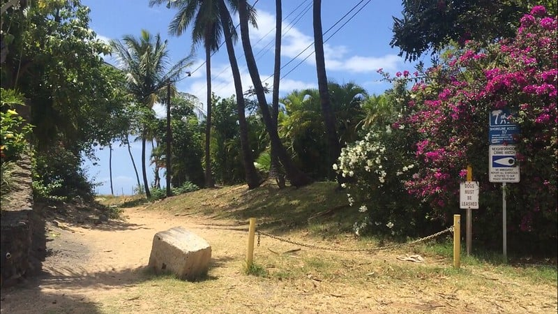 halama st beach access in kihei maui
