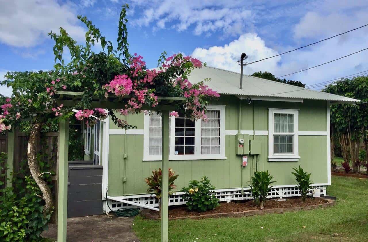 plantation style Makawao Maui home