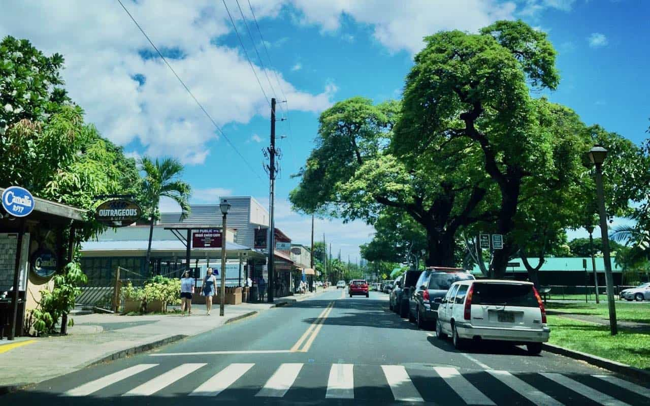 front street afternoon Lahaina