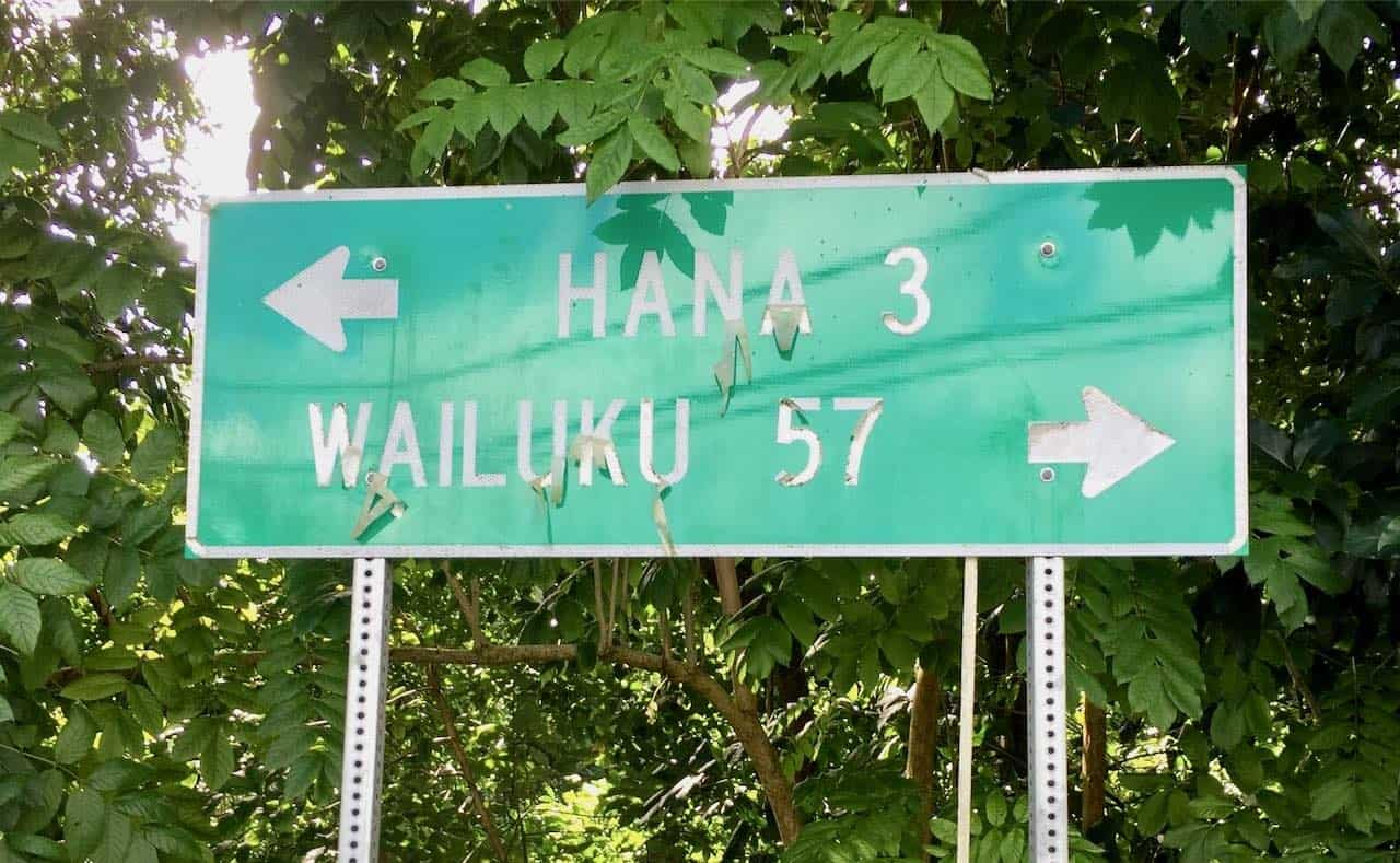 this way to Hana Maui