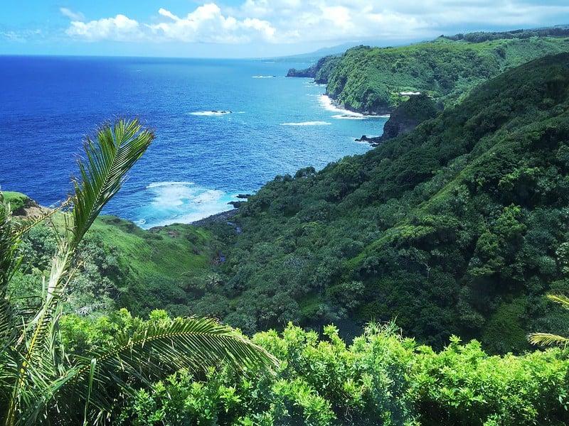 view at 180 door of faith road Haiku Maui HI