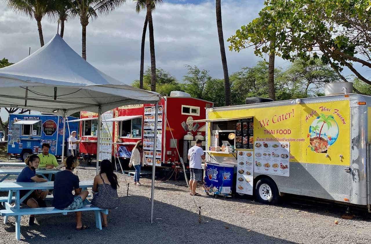 aloha thai fusion truck