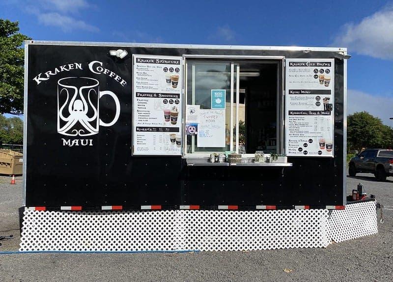 kraken coffee truck