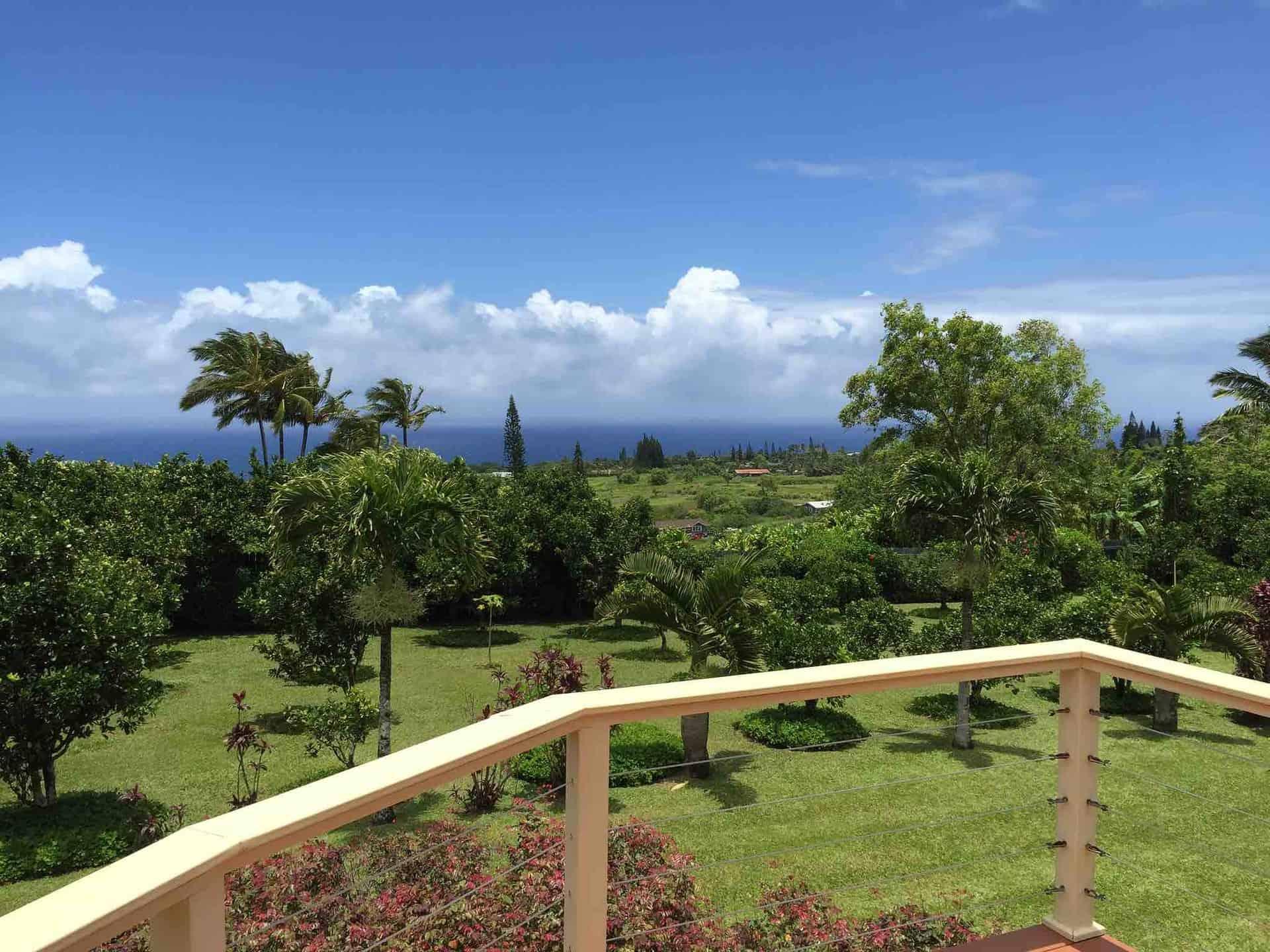 Haiku Maui country view