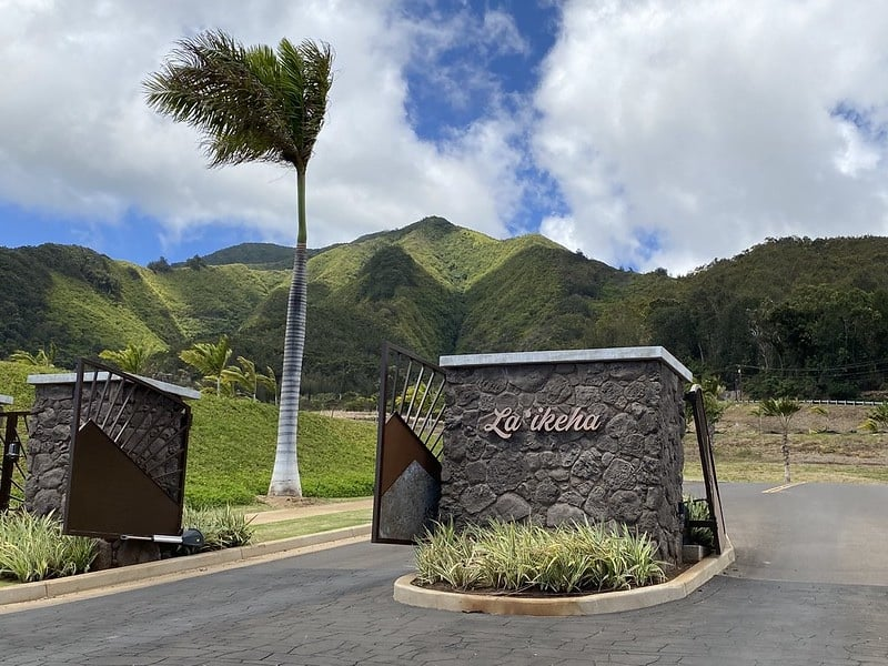 entrance to la'ikeha kehalani