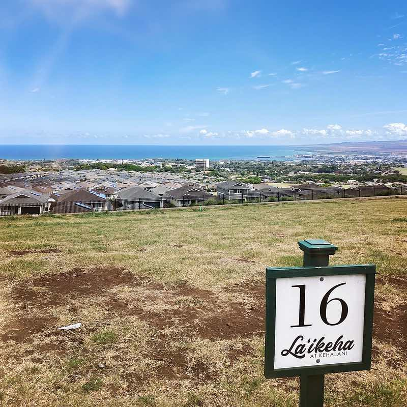 view from lot 16 in laikeha