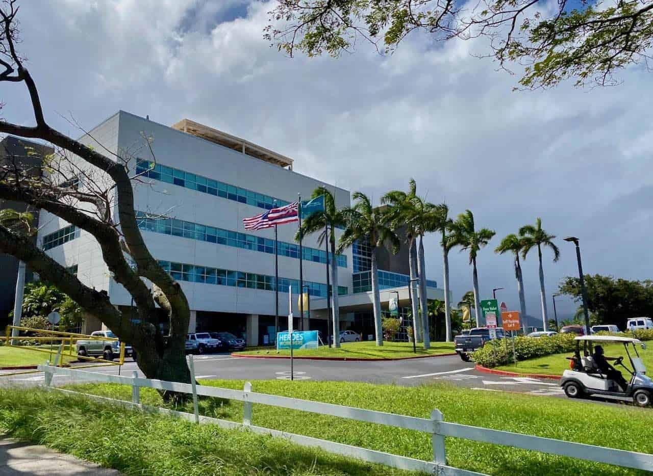 Maui Memorial Medical Center hospital