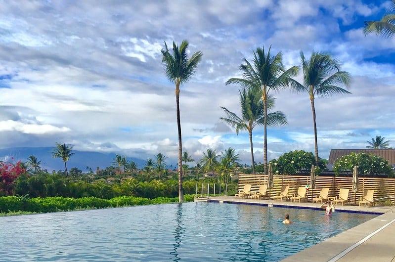 poolside at Papali Residences, Wailea Maui