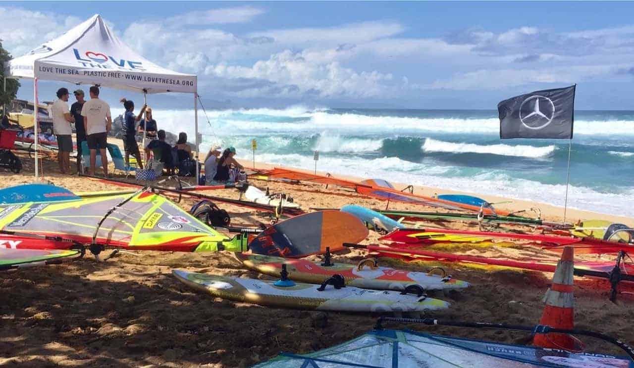 ocean sports contest on maui