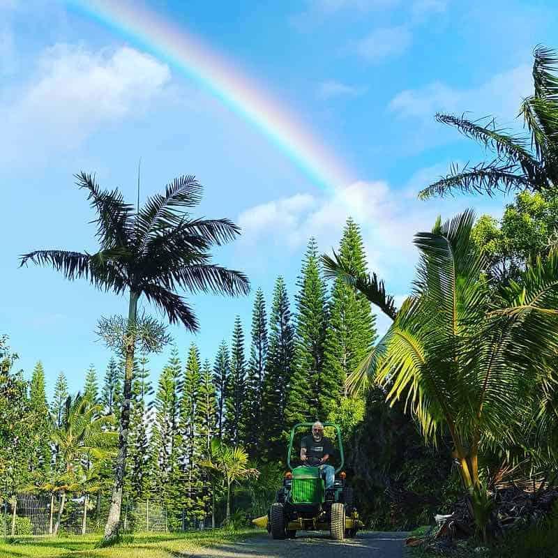rainbow tractor maui