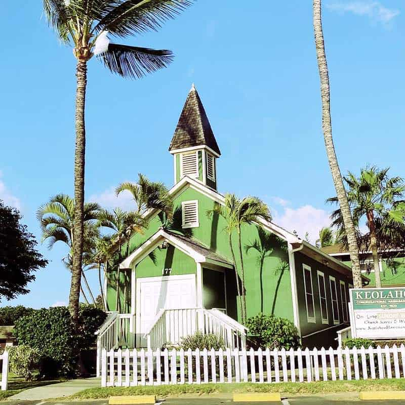 Kihei little green church