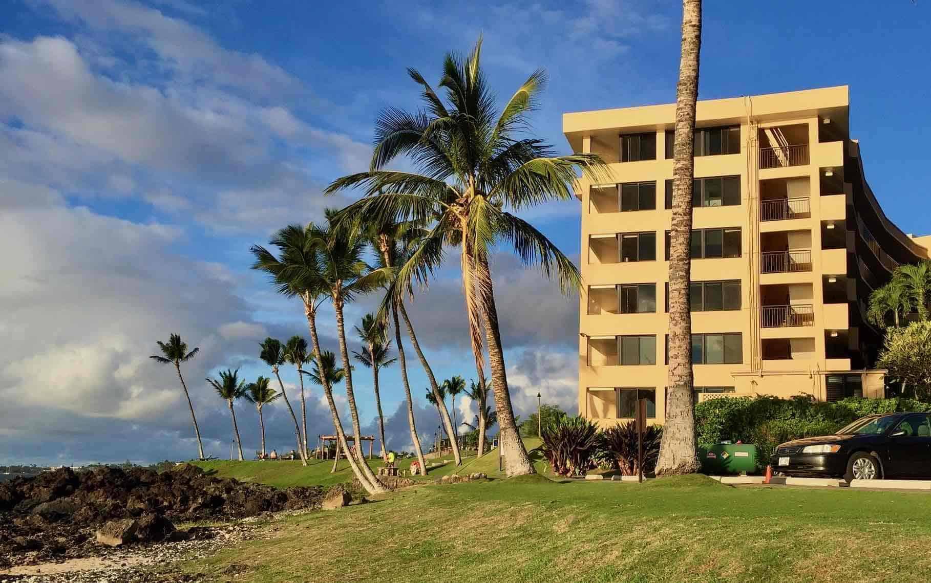 Mana Kai condo building Maui